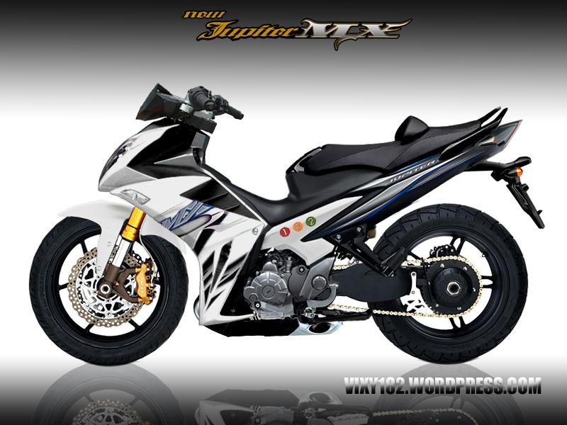 Design Modifikasi New Jupiter Mx Bergaya Yamaha X1r Vixy182 S Blog